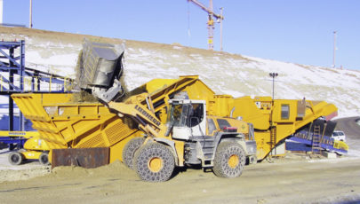 Bild for mobile tracked jaw crusher B 1385