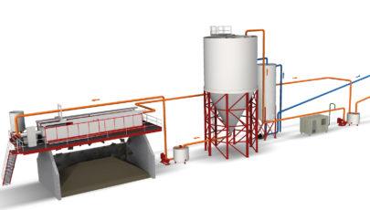 Bild Wasser- und Schlammaufbereitung WSA