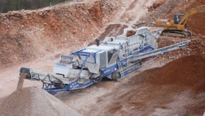 Bild for tracked mobile impact crusher R 131