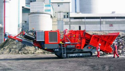 Bild for tracked mobile impact crusher R 100